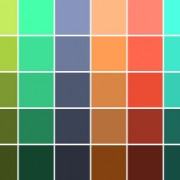 Screen Color Palette
