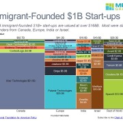 Marimekko Chart of Startup Value by Country and Company