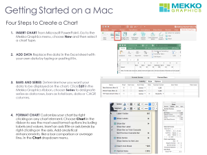 4 Steps to Creating a Chart on a Mac