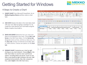 4 Steps to Creating a Chart in Mekko Graphics for Windows
